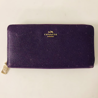 *SALE* Coach Purple Wallet