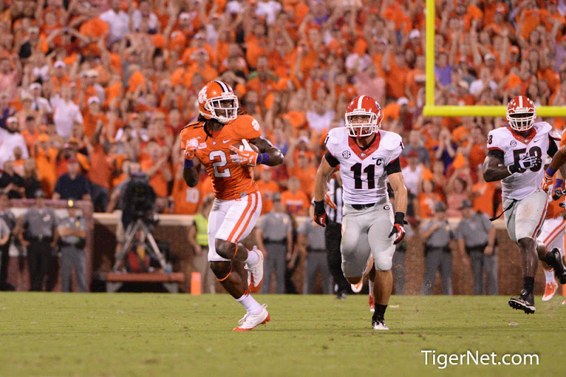Georgia at Clemson Photos - 2013, Football, Georgia, Sammy Watkins