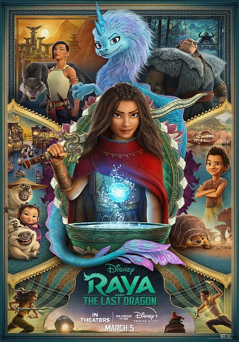 Raya and the Last Dragon 2021 English HDRip Full Movie Download 480p 720p