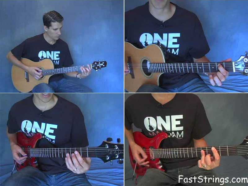 Desi Serna - Guitar Chord Progressions & Playing By Numbers