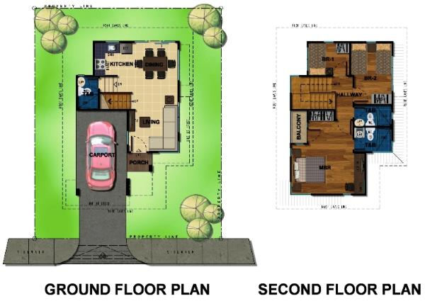Bambu Estate Nori Floor Plan