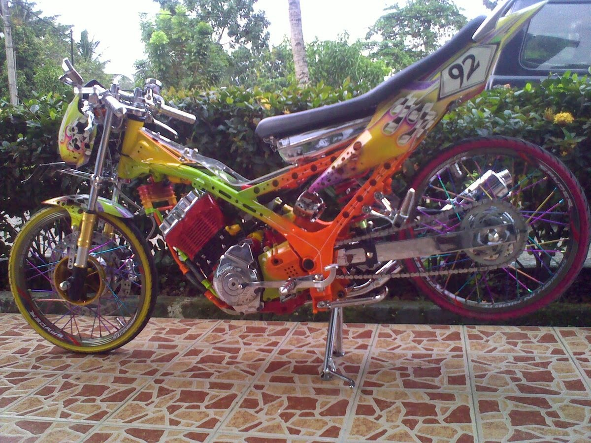 Foto Modifikasi Scoopy Drag