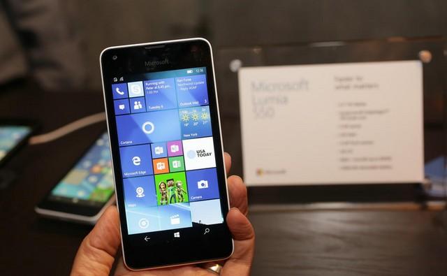 Chiếc Lumia 550 giá rẻ của Microsoft