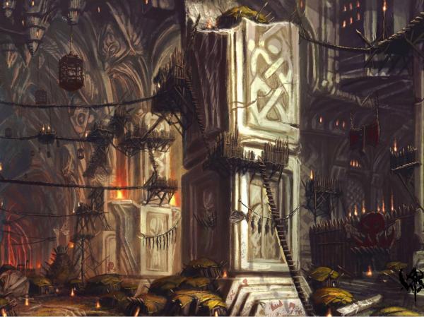 Dark Citadel, Magical Landscapes 1