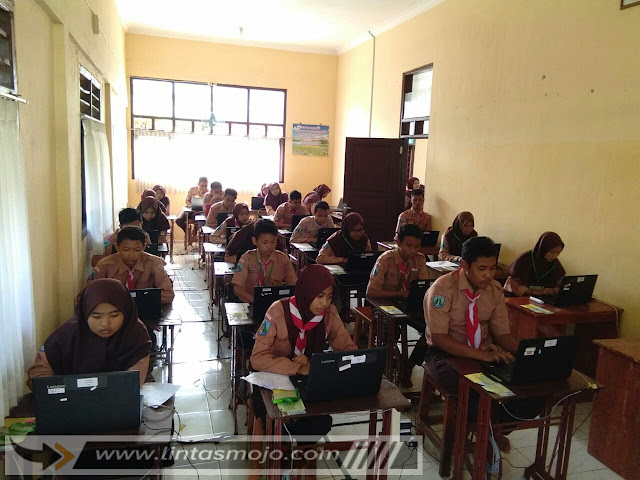Simulasi Ujicoba UNBK SMPN 8 Kota Mojokerto