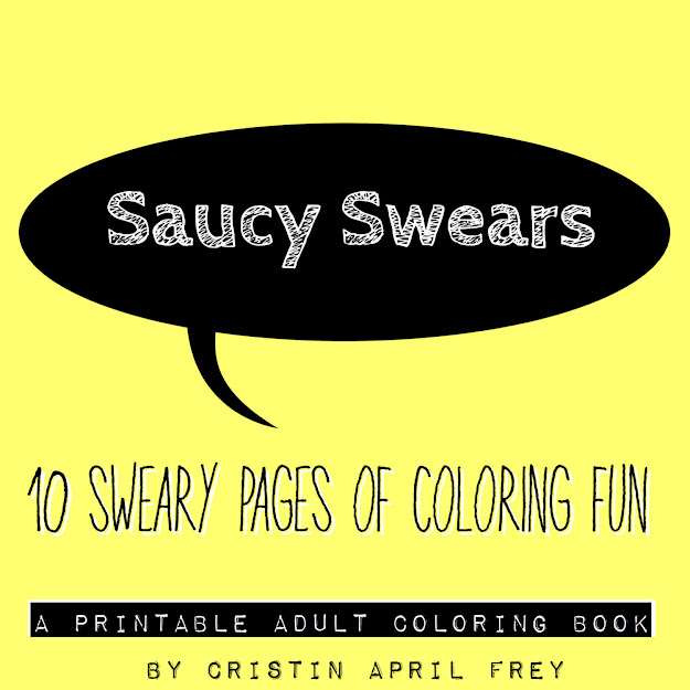 Printable Adult Coloring Book Swear Words Pdf Download Colouring Page  Curse Sweary Cuss Zoom