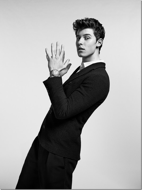 EMPORIO ARMANI  SHAWN MENDES COME TOGETHER TO LAUNCH THE FIRST TOUCHSCREEN SMARTWATCH COLLECTION (2)