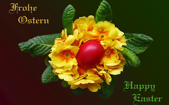 sretan uskrs na njemačkom jeziku 1920x1200 Pozadine za desktop: Frohe Ostern i Happy Easter  sretan uskrs na njemačkom jeziku