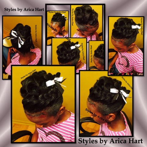 Children hair styles , Updo , braids , black hair styles , blogger , black hair blog , beauty blogger , Aiken , SC , hair stylist , hair salon