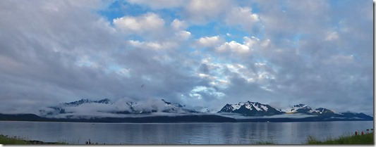 Resurrection Bay, Kenai Mountains, following a rainy day