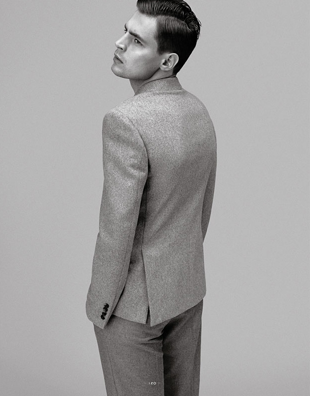 Adrian Wlodarski @ VNY by Paul Wetherell for Fantastic Man #4 (Fall 2011).  Styled by Jodie Barnes