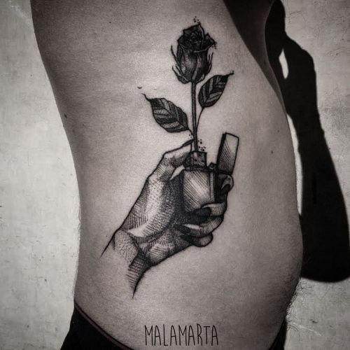 esta_brilhante_zippo_e_rose_tattoo