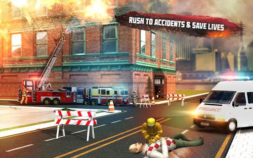 ? Rescue Fire Truck Simulator: 911 City Rescue 1.3 screenshots 8