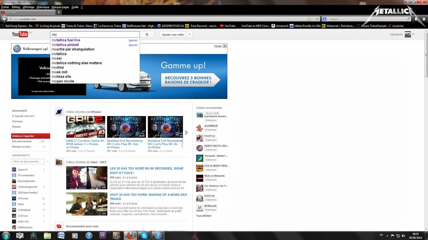 Flood du forum - Page 6 YouTube.....