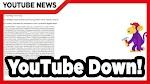 Trending #YoutubeDown Tapi Cuma Sebentar Kok