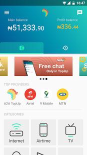Topup Africa app