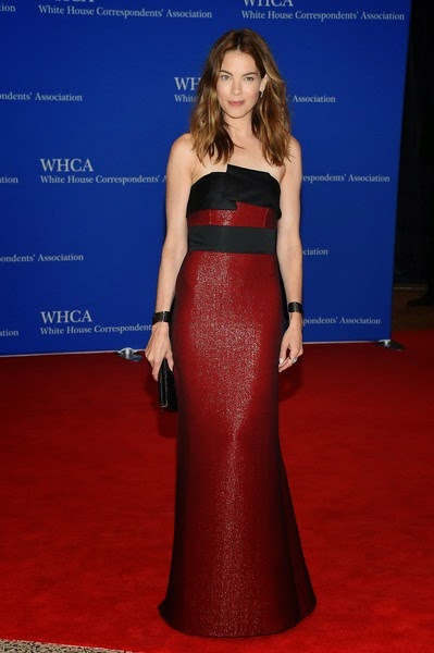 Michelle Monaghan attends the 101st Annual White House
