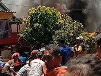 Kebakaran Hanguskan Enam Rumah Di Selayar Dusun Patori