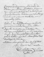Bouwmeester, Gerrit Jan en Kogel, Kaatje de Huwelijksakte 12-07-1805 Langerak.jpg