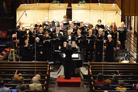 Photo 1 - Crescent Choral Society in performance