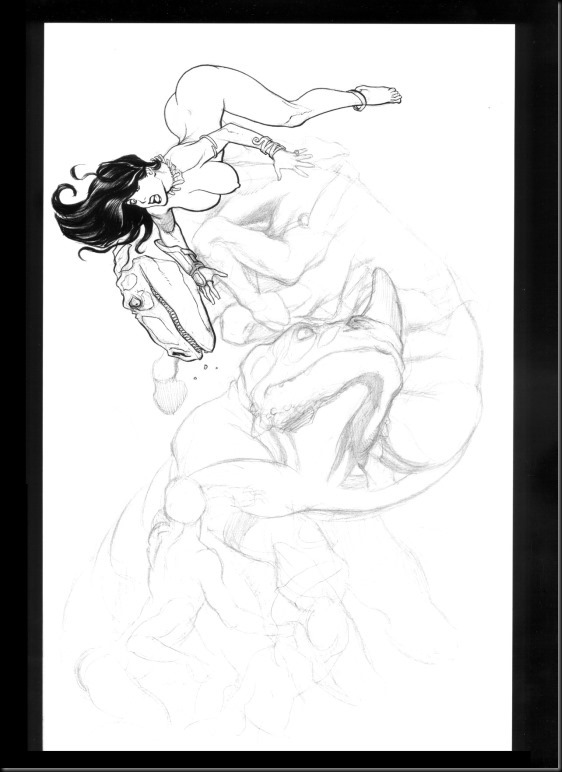 [Frank Cho] Women - Selected Drawings and Illustrations_854057-0103