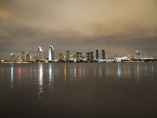 Clouds setting the mood over the San Diego Bay