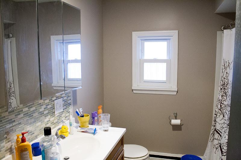 How not to install diy faux shiplap walls pretty purple door for Bathrooms b q installation