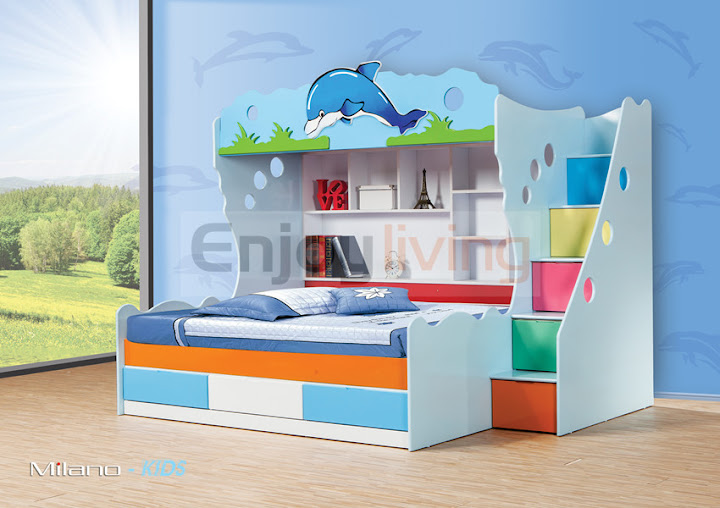 759-1015 Multifunctional Bunk Bed