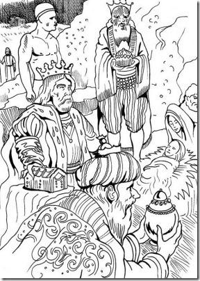 reyes magos jugarycolorear  (8)