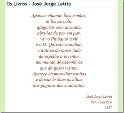 poema livros jjl