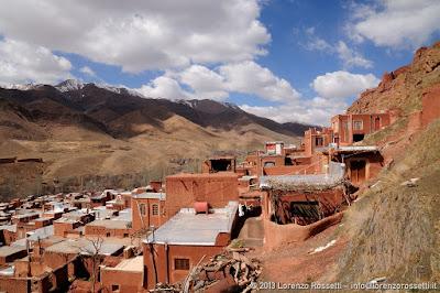 Veduta del villaggio di Abyaneh