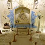Chapelle Saint-Blaise-des-Simples : fresques latérales