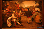 Brueghel, el viejo. La danza campesina. 1568