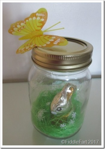 Easter Bunny In A Jar a