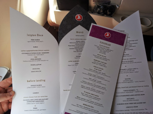 Hmm, what to choose? From What's It Really Like to Fly Turkish Airlines Business Class?