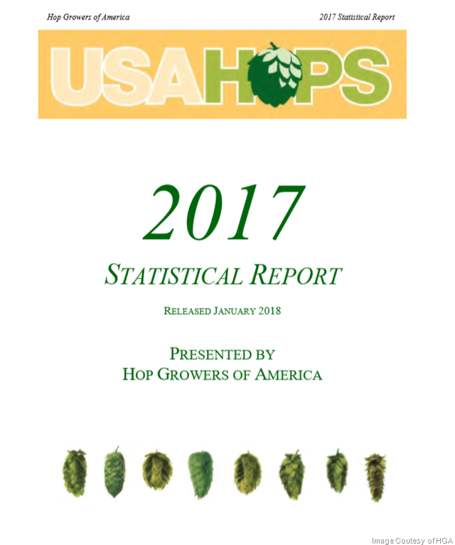 Hop Growers of America Announces Record Hop Production of 104 Million Pounds
