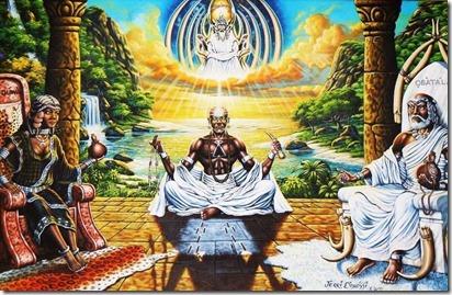 Olofin - olodumare - obatala - orishas - santeria - candomblé - orixa - orisa - religião - Ifá