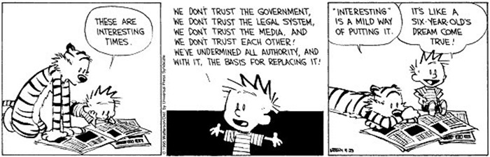 undermined everything calvin hobbes