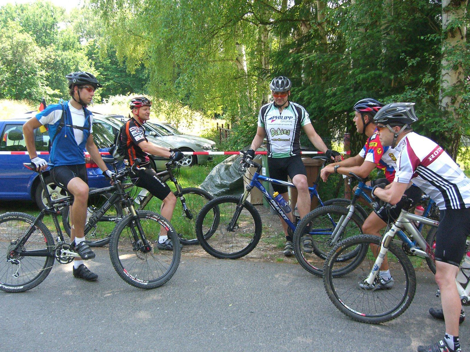 Traillastige Tour für erfahrene Biker