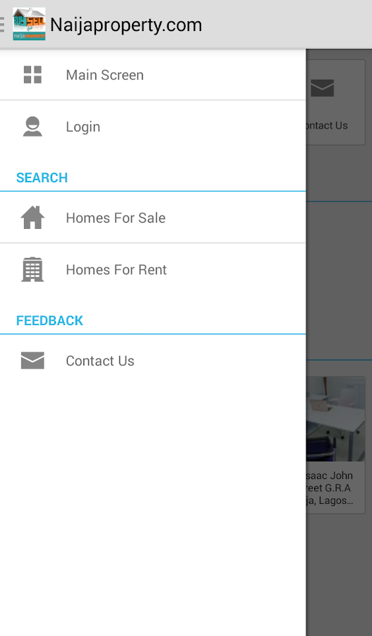 Naija Property Real Estate App- screenshot