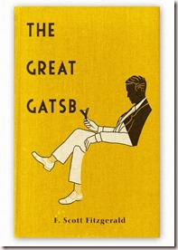 The Great Gatsby F.Scott Fitzgerald Yellow Cover