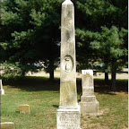 Nancy Crockett monument. See next picture for details of inscription.