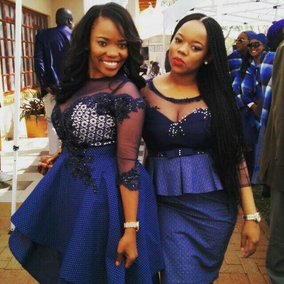 Beautiful Shweshwe Dresses Designs For Ladies 1