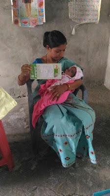 Immunization at No 1 Boinara Satra, Udalguri