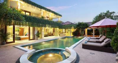 Bali properti leasehold Villa