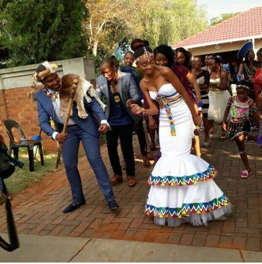 South African Wedding Dresses Traditional Designs 2018 5