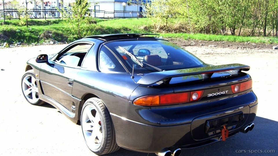 1997 mitsubishi 3000gt vr 4 specifications pictures prices. Black Bedroom Furniture Sets. Home Design Ideas