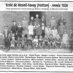 Anciennes photos de classes.