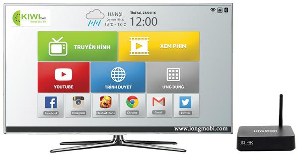 android tv box kiwi S3 thai nguyen
