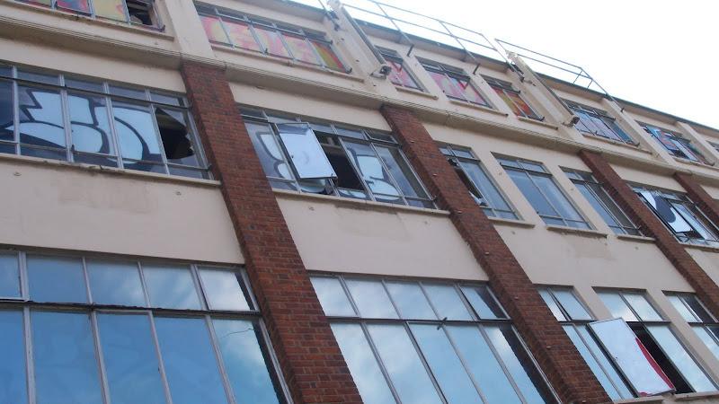 broken down old building